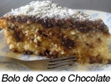 Bolo de coco e chocolate-Menu copy