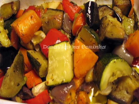 Legumes a sair do forno - Artigo copy