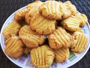 Biscoitos no prato copy