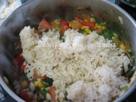 juntar arroz