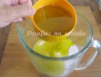juntar azeite