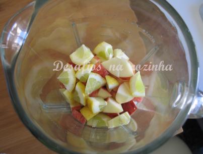 maçã e limão