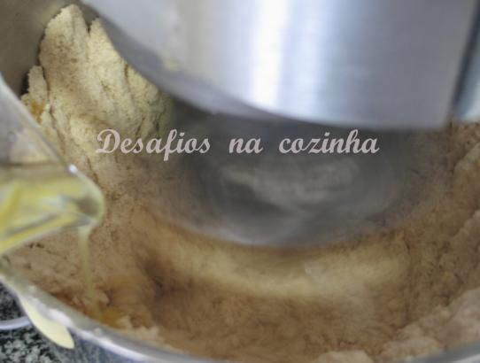 misturar manteiga