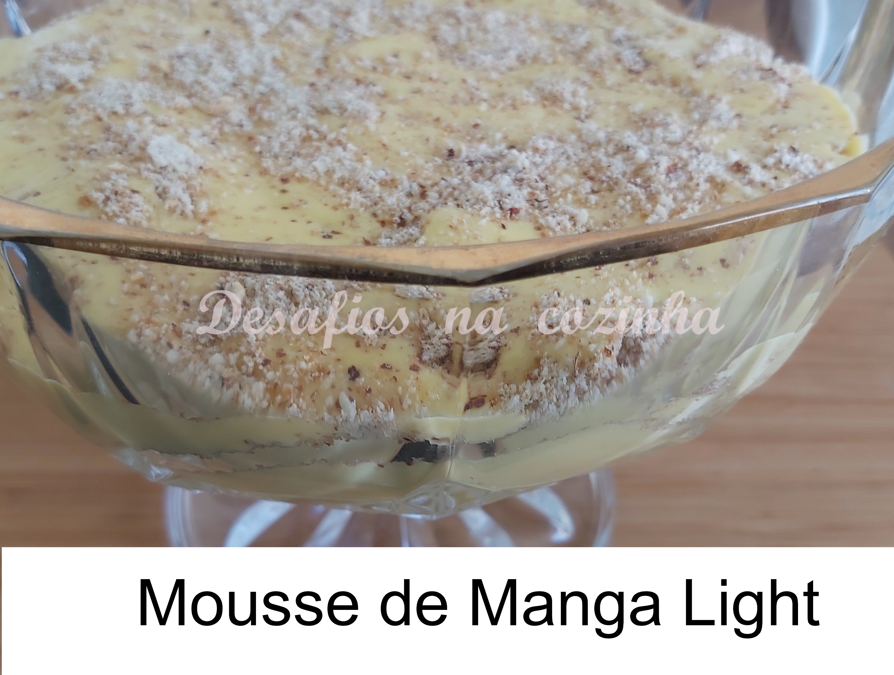 Mousse de manga light menu