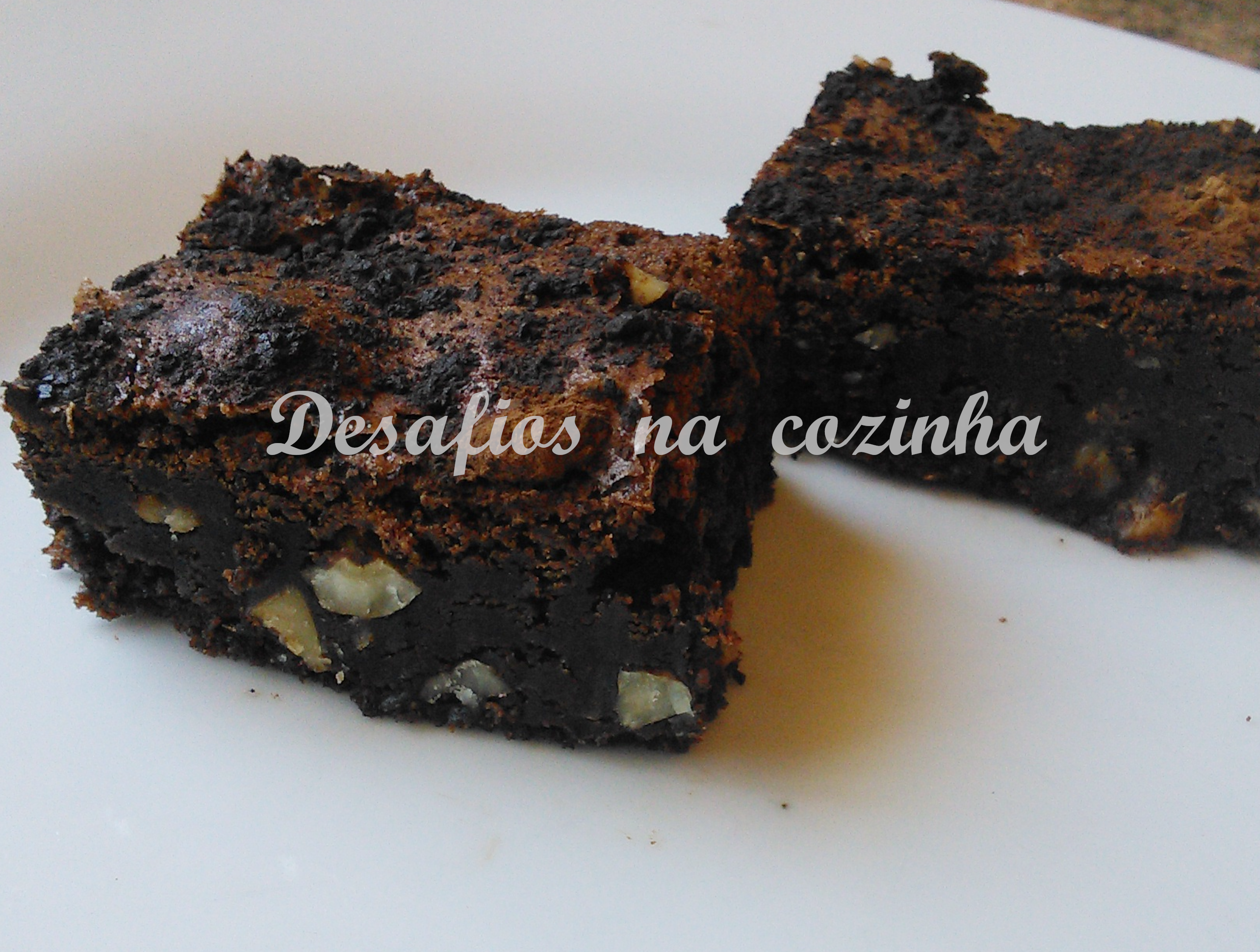 Quadrados brownies