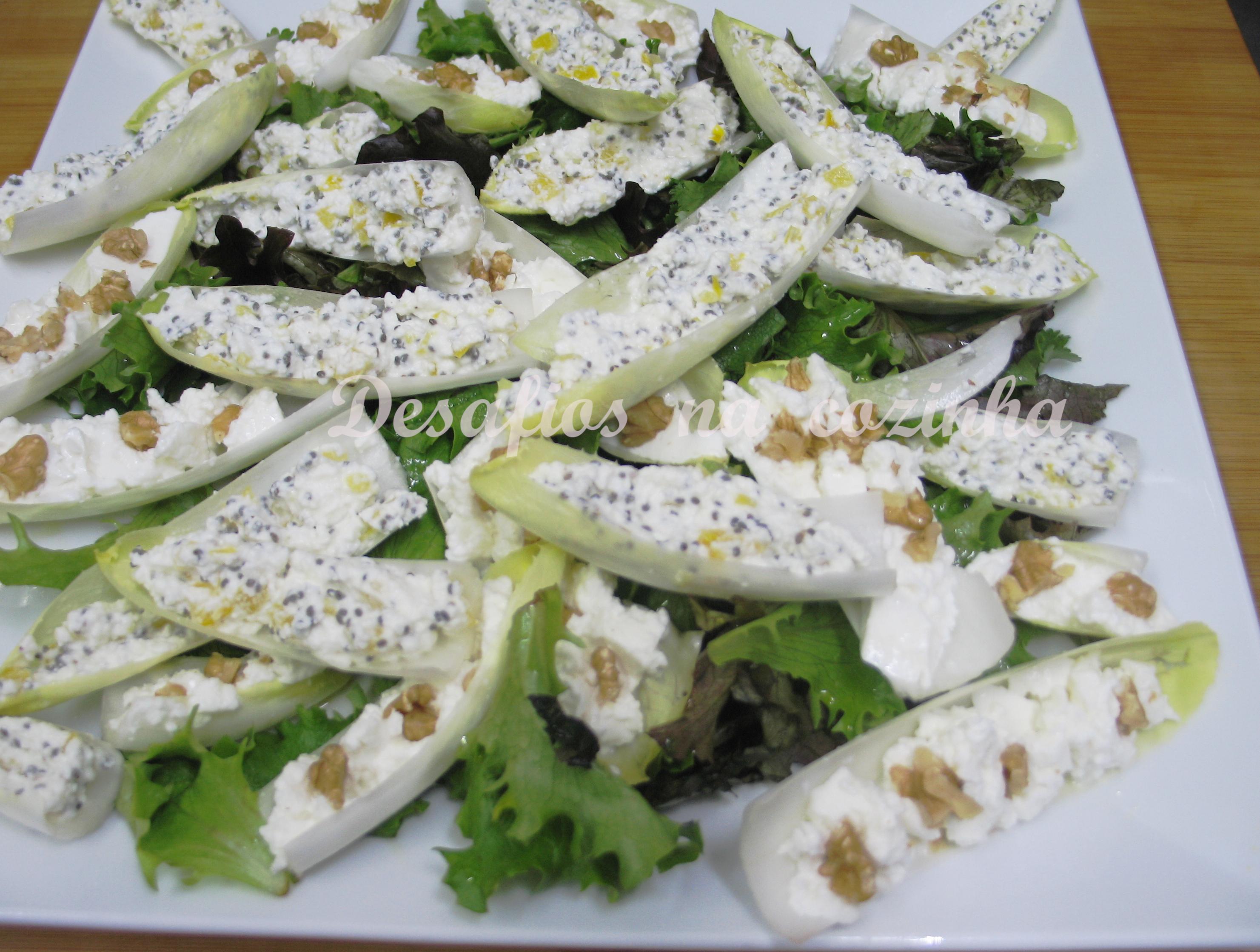 Endivas e salada