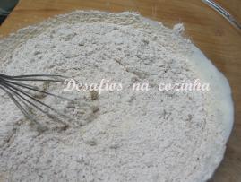Juntar farinha